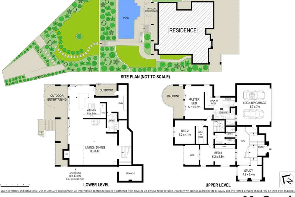 Floorplan of Homely house listing, 60 Queens Road, Hamilton QLD 4007