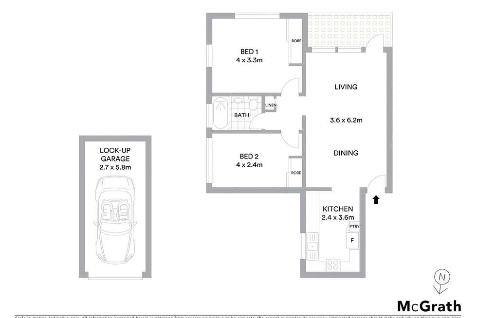 Floorplan of Homely unit listing, 7/11-13 Longueville Road, Lane Cove NSW 2066