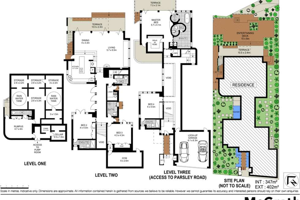 Floorplan of Homely house listing, 16 Parsley Road, Vaucluse NSW 2030