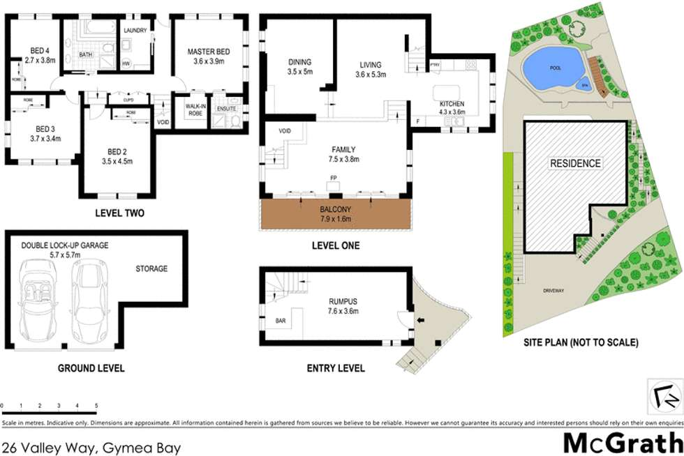 Floorplan of Homely house listing, 26 Valley Way, Gymea Bay NSW 2227