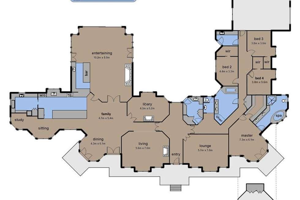 Floorplan of Homely house listing, 112-118 Buchanan Road, Berwick VIC 3806