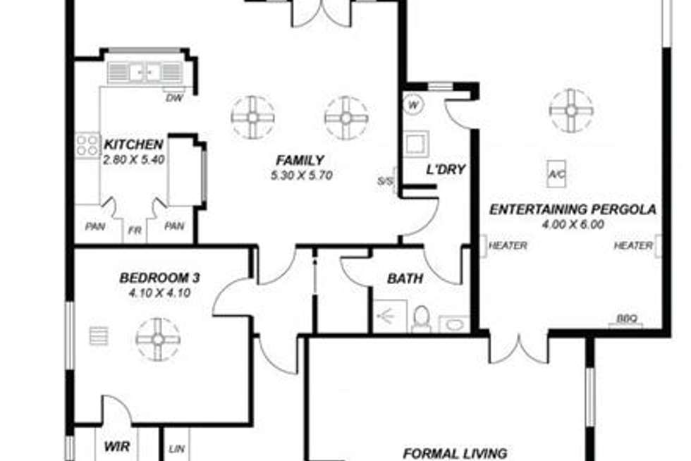 Floorplan of Homely house listing, 169 First Avenue, Royston Park SA 5070