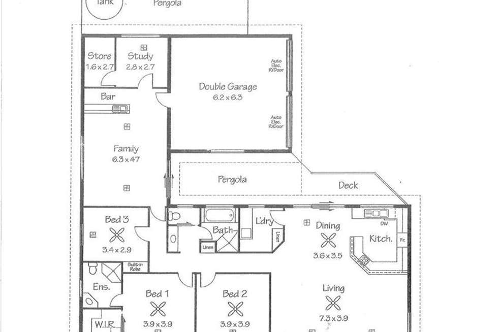 Floorplan of Homely house listing, 13 Purnong Road, Mannum SA 5238