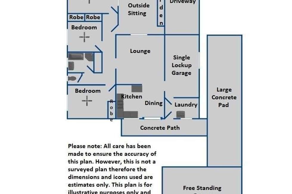 Floorplan of Homely house listing, 6 Fassifern Street, Durack QLD 4077