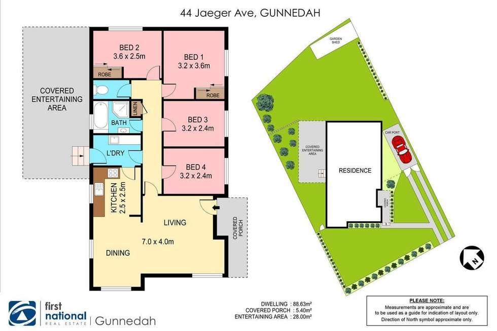 Floorplan of Homely house listing, 44 Jaeger Avenue, Gunnedah NSW 2380