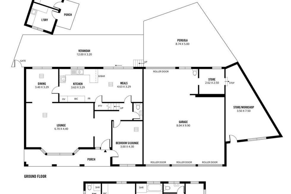 Floorplan of Homely house listing, 3 Packers Drive, Highbury SA 5089