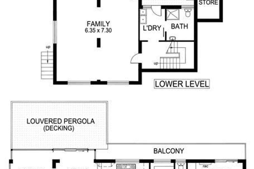 Floorplan of Homely house listing, 5 Davey Crescent, Seaview Downs SA 5049