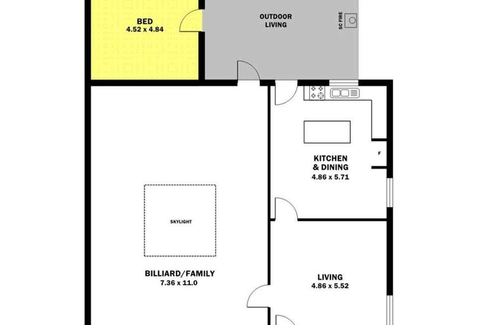 Floorplan of Homely house listing, 6 Edith Street, Edithburgh SA 5583