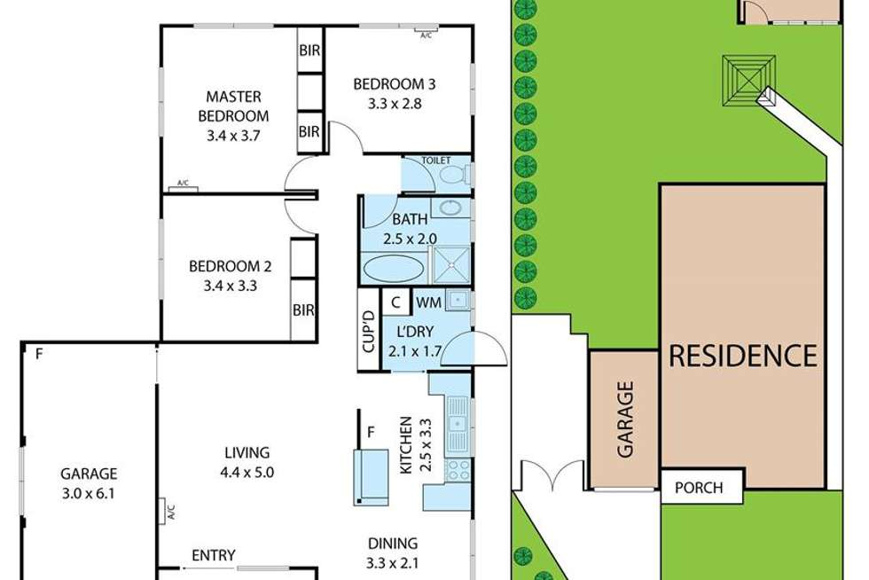 Floorplan of Homely house listing, 192 Townson Avenue, Palm Beach QLD 4221