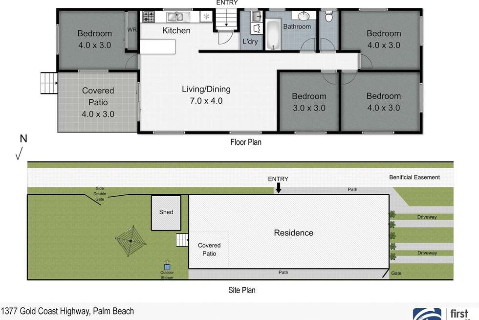 Floorplan of Homely house listing, 1377 Gold Coast Highway, Palm Beach QLD 4221