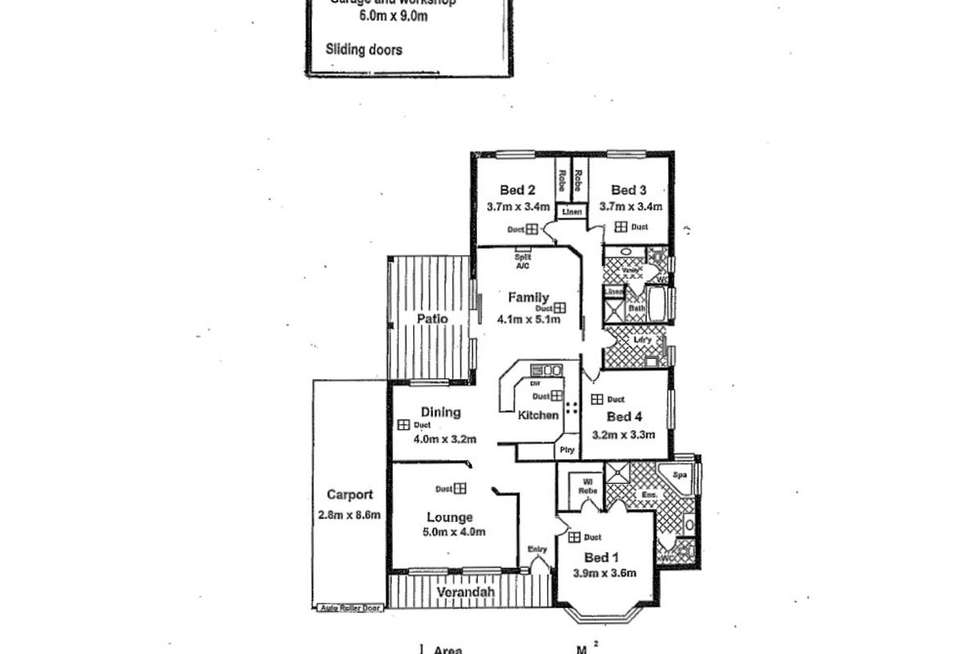 Floorplan of Homely house listing, 14 Bunyip Way, Mannum SA 5238