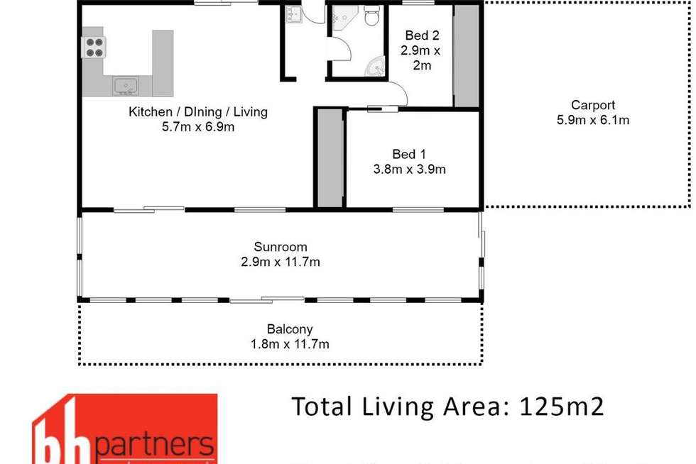 Floorplan of Homely house listing, 91 River Lane, Mannum SA 5238