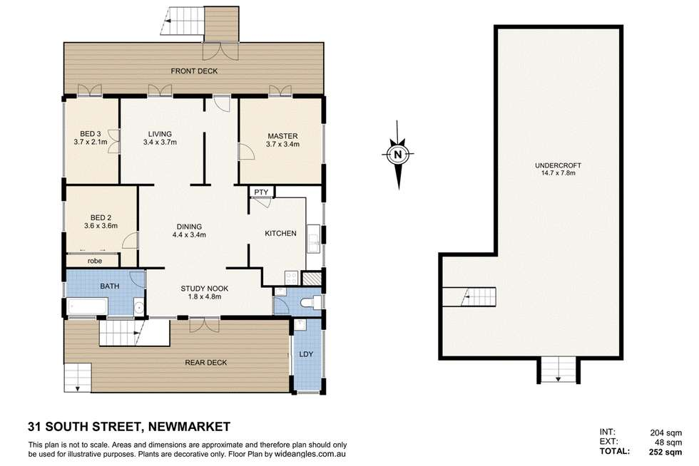 Floorplan of Homely house listing, 31 South Street, Newmarket QLD 4051
