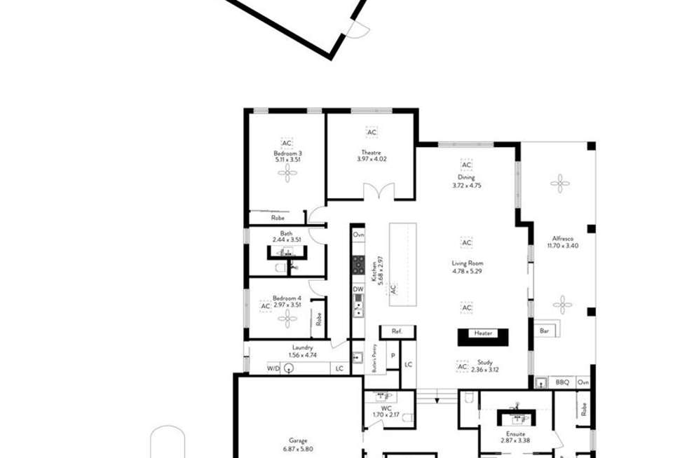 Floorplan of Homely house listing, 37 Cadell Street, Seaview Downs SA 5049