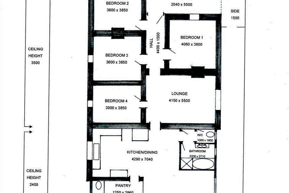 Floorplan of Homely house listing, 40 Berryman Avenue, Mannum SA 5238