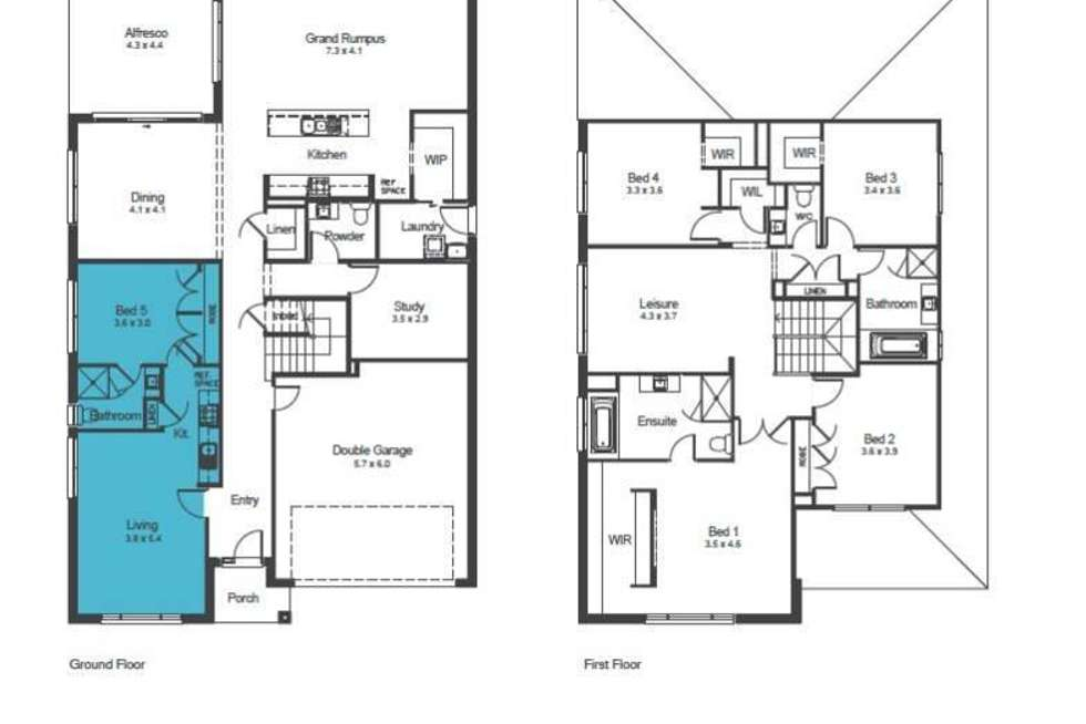 Floorplan of Homely house listing, 4 Bellevale Court, Stanhope Gardens NSW 2768