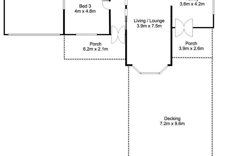Floorplan of Homely house listing, 77 Cliff Street, Mannum SA 5238