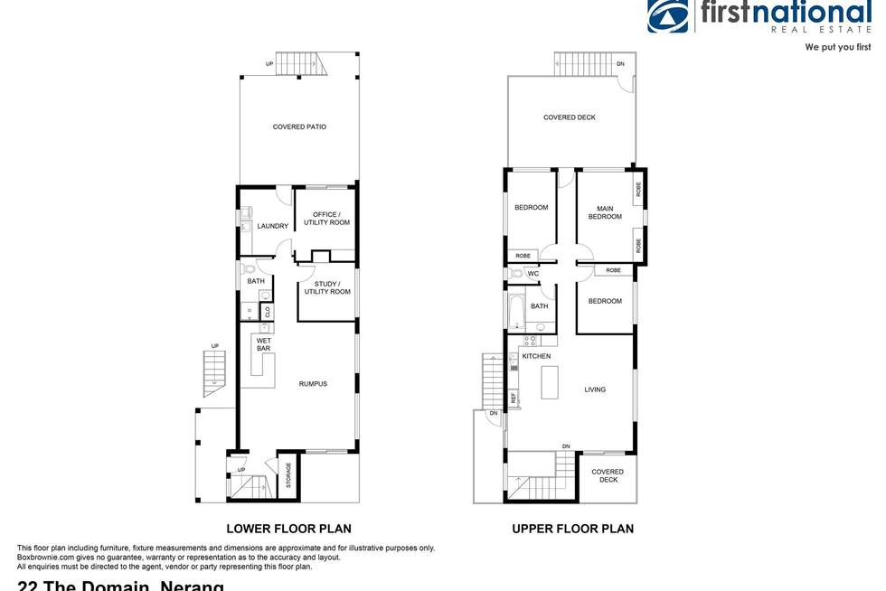 Floorplan of Homely house listing, 22 The Domain, Nerang QLD 4211