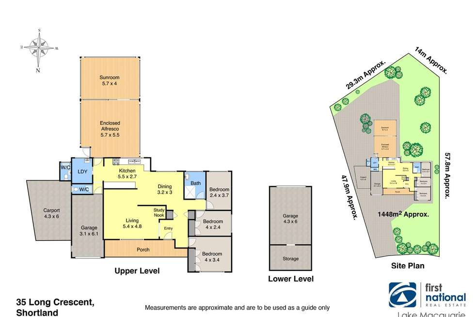 Floorplan of Homely house listing, 35 Long Crescent, Shortland NSW 2307