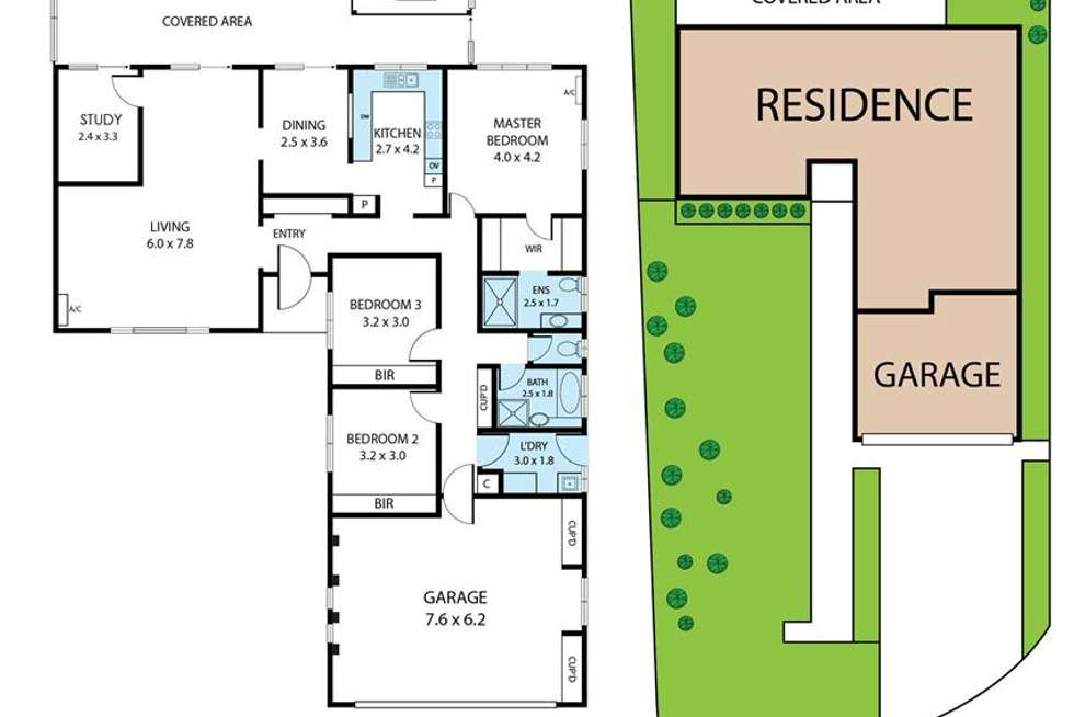 Floorplan of Homely house listing, 4 Myrtle Court, Palm Beach QLD 4221