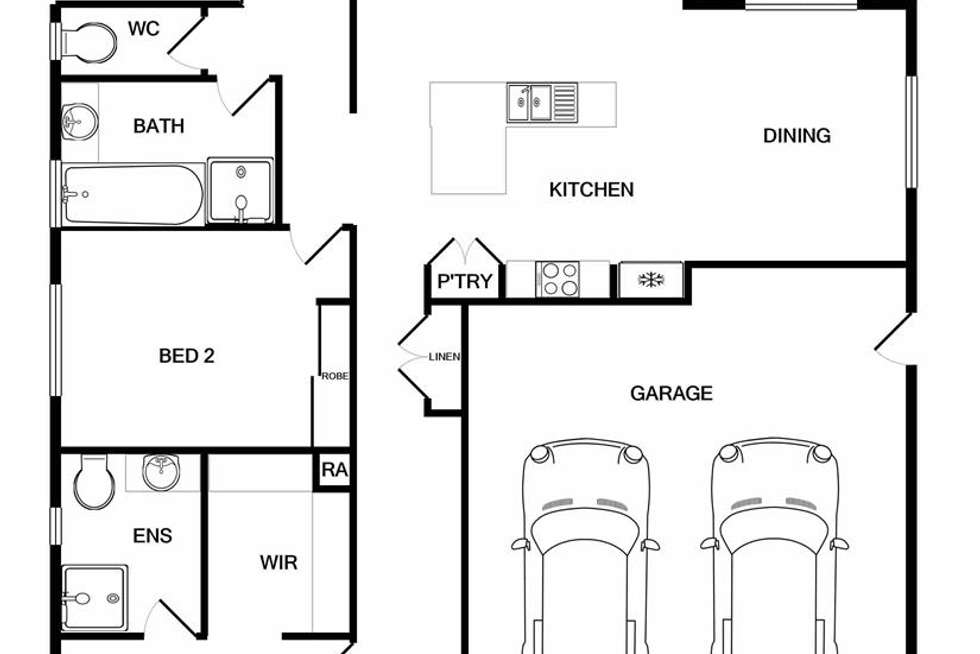 Floorplan of Homely house listing, 91 Yarralumla Drive, Wodonga VIC 3690