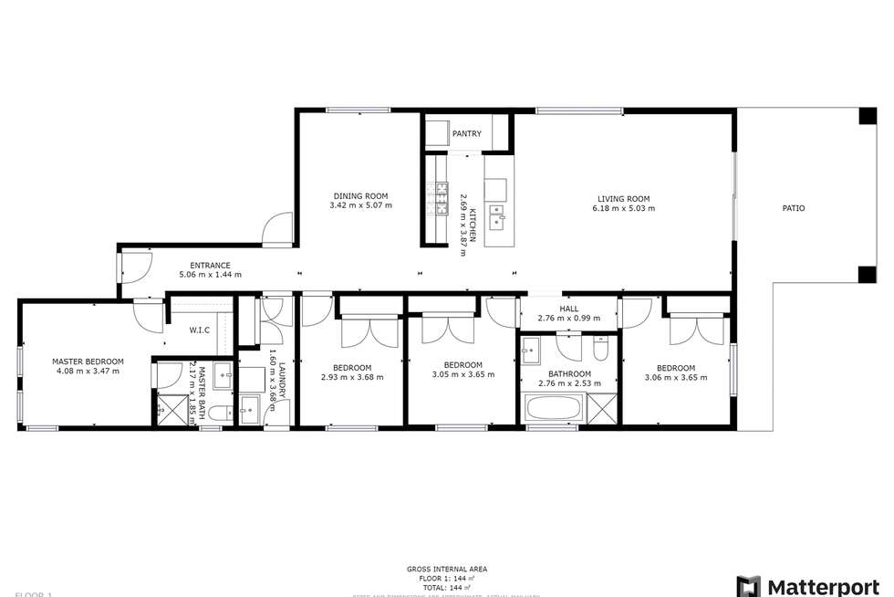 Floorplan of Homely house listing, 9 Redwood Drive, Mildura VIC 3500