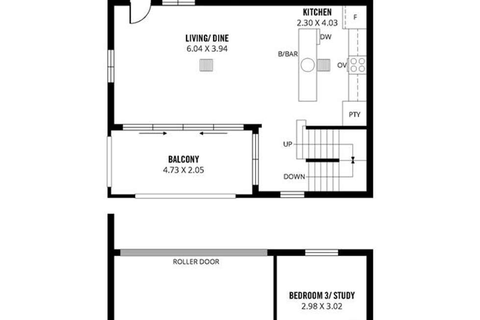 Floorplan of Homely house listing, 15 Todd Place, Adelaide SA 5000
