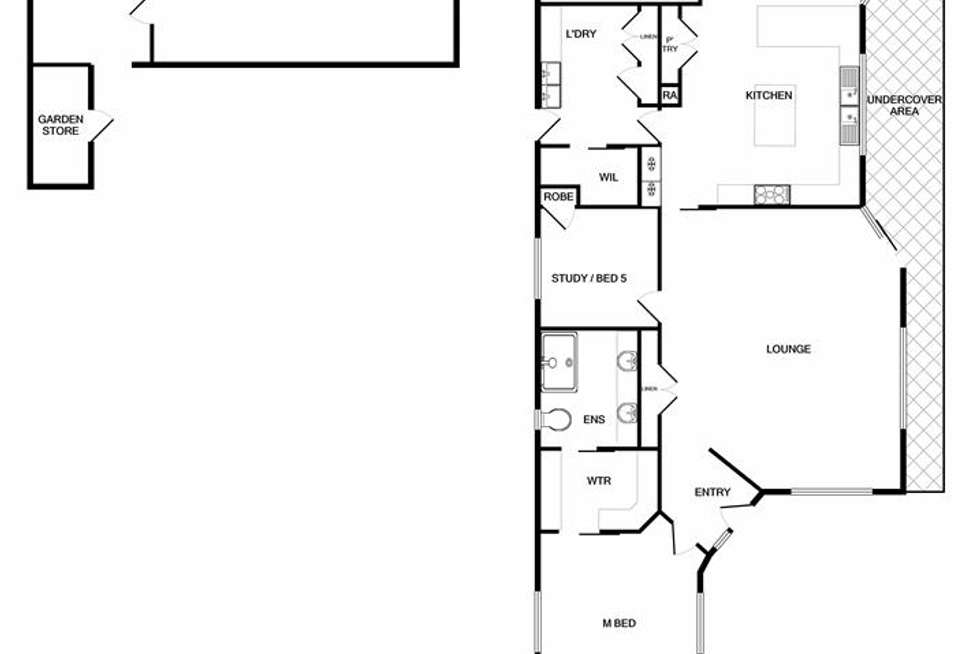 Floorplan of Homely house listing, 41 Memorial Drive, Wodonga VIC 3690