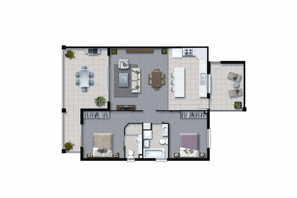 Floorplan of Homely apartment listing, 04/111 Samford Road, Enoggera QLD 4051