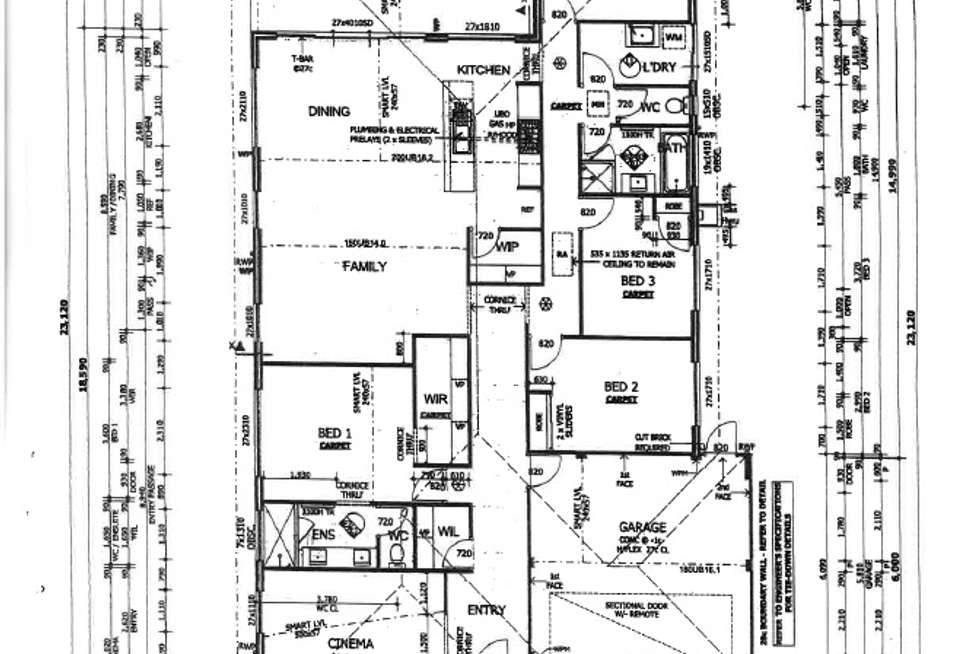Floorplan of Homely house listing, 11 Brassie Terrace, Yanchep WA 6035