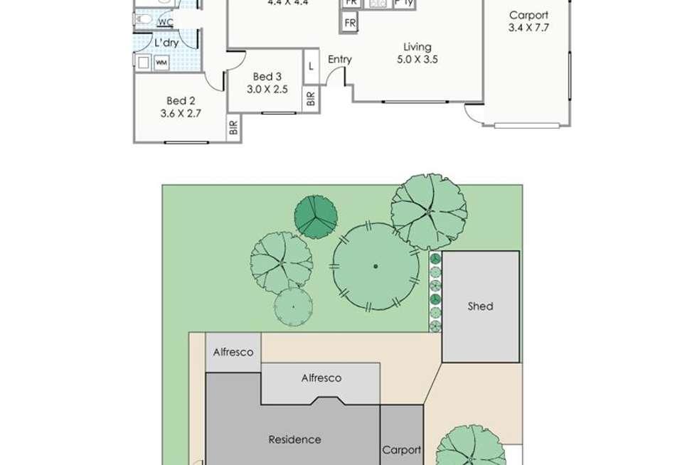 Floorplan of Homely house listing, 500 Metcalfe Road, Ferndale WA 6148