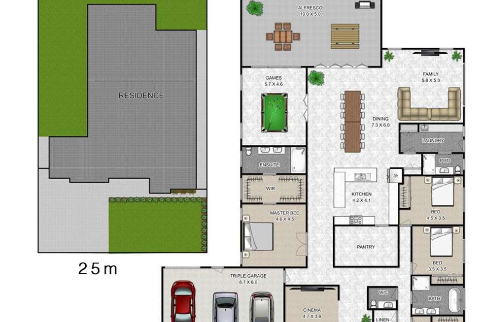 Floorplan of Homely house listing, 71 Fernadell Drive, Pitt Town NSW 2756