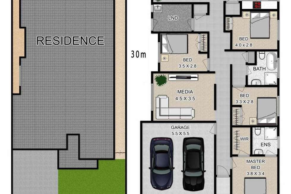 Floorplan of Homely house listing, 27 Lotus Street, Marsden Park NSW 2765