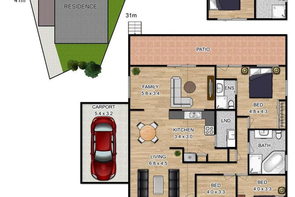 Floorplan of Homely house listing, 13 Attard Avenue, Marayong NSW 2148