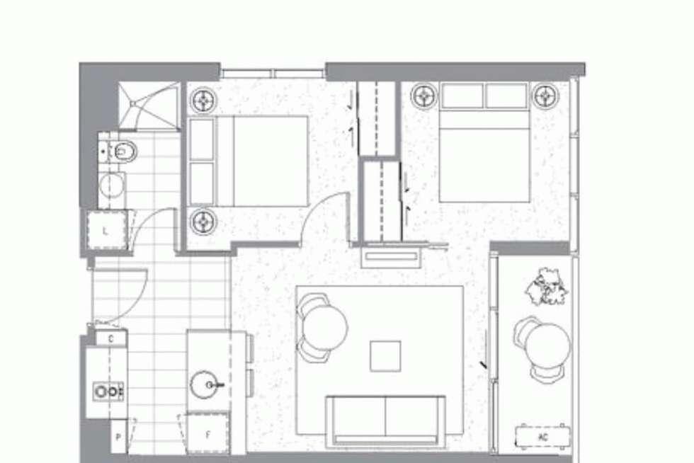 Floorplan of Homely apartment listing, 902/33 MACKENZIE STREET, Melbourne VIC 3000