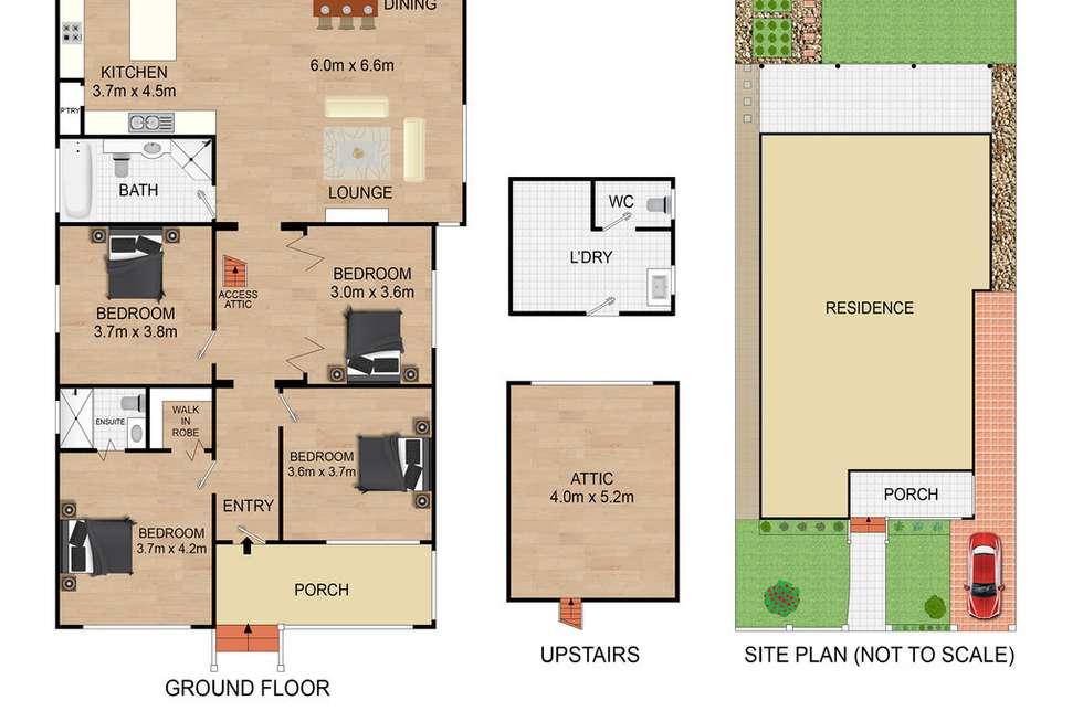 Floorplan of Homely house listing, 17 Kirrang Street, Wareemba NSW 2046