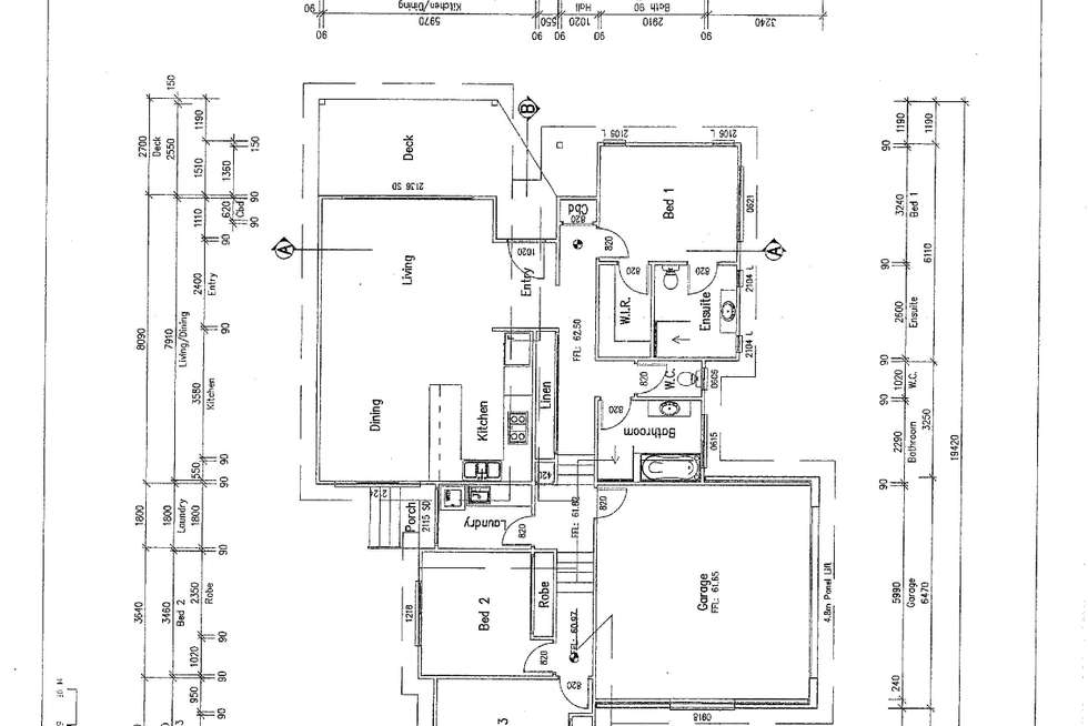 Floorplan of Homely house listing, 58 First Ridge Road, Smiths Lake NSW 2428