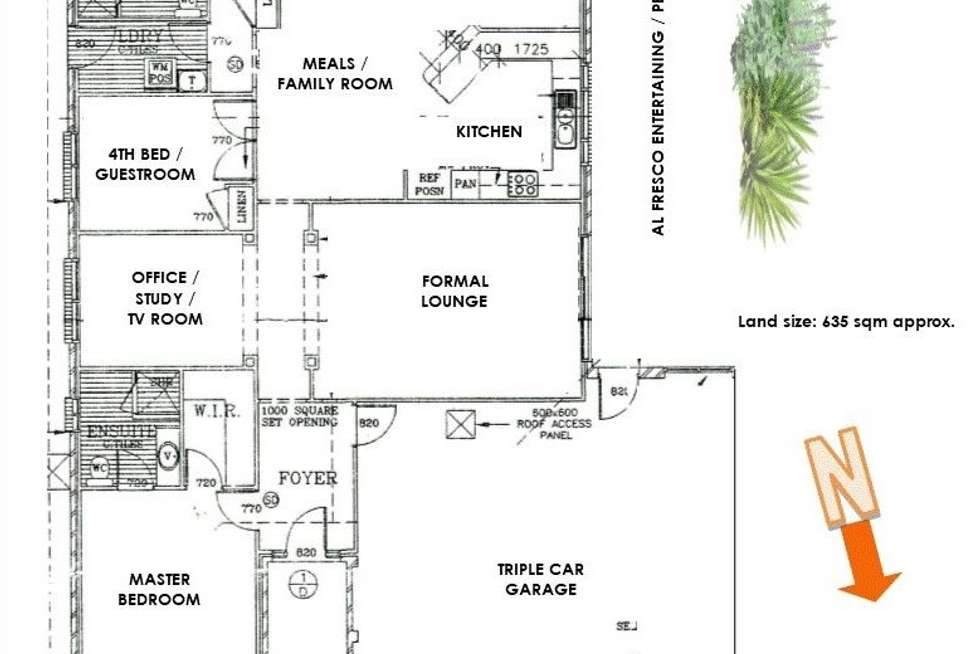 Floorplan of Homely house listing, 34 Tradewinds Avenue, Summerland Point NSW 2259