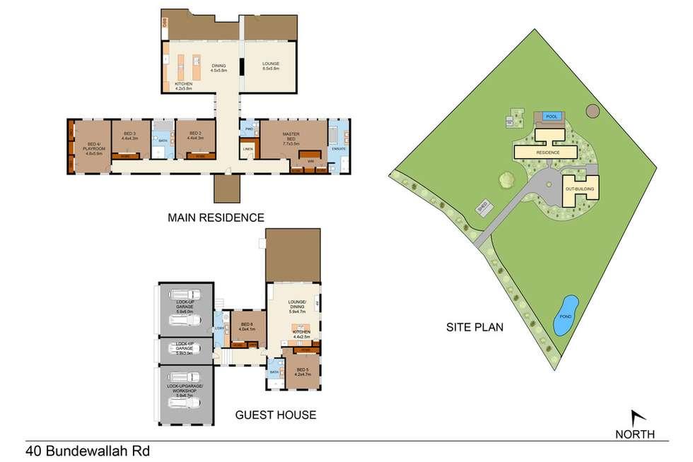 Floorplan of Homely house listing, 40 Bundewallah Rd, Berry NSW 2535