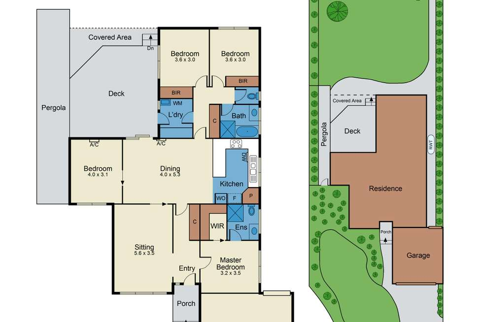 Floorplan of Homely house listing, 10 Bemboka Court, Wantirna South VIC 3152