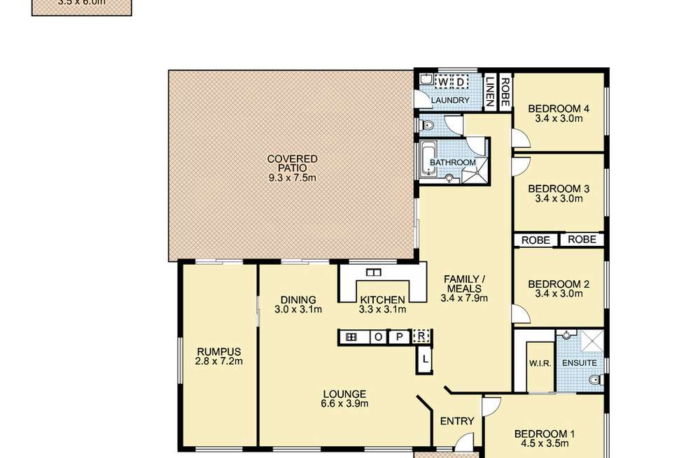 Floorplan of Homely house listing, 17 Marlock Court, Doonan QLD 4562