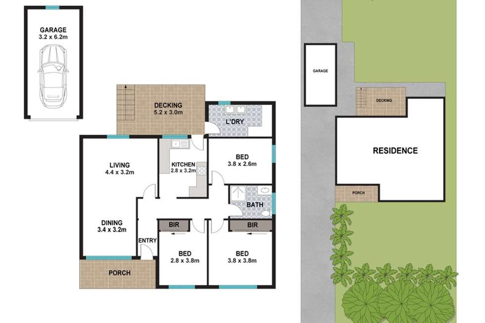 Floorplan of Homely house listing, 17 Ferris Street, North Parramatta NSW 2151