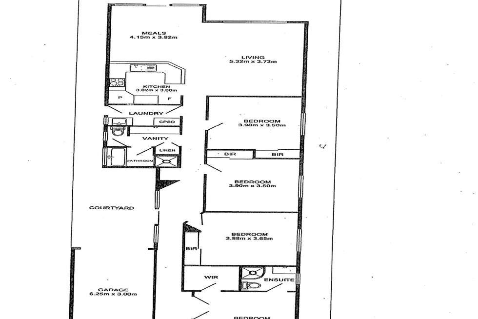 Floorplan of Homely house listing, 2C Glenavon Street, Woodville South SA 5011