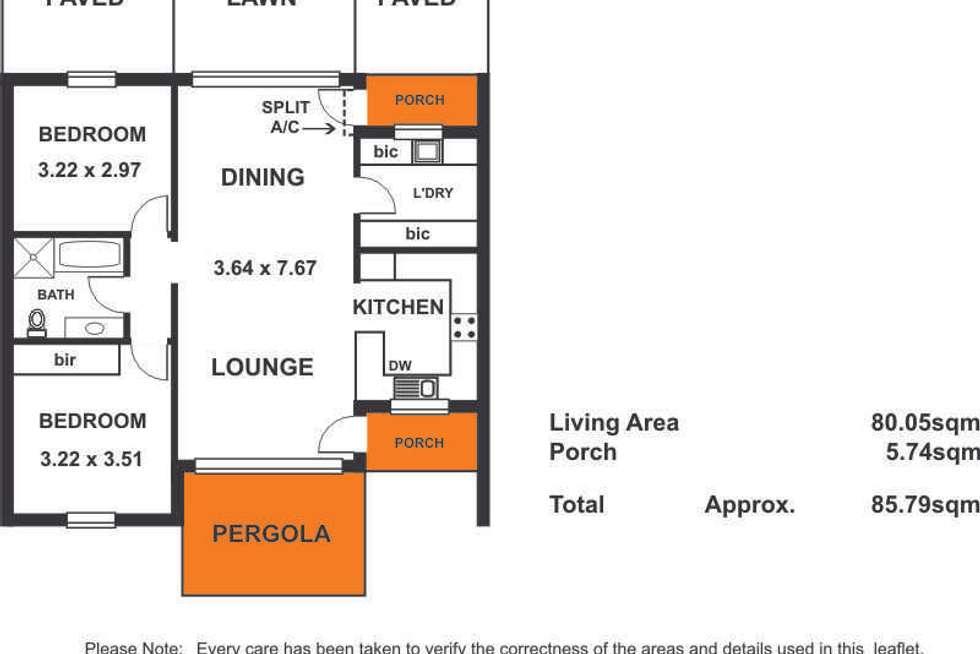 Floorplan of Homely unit listing, 15/216 Payneham Road, Evandale SA 5069