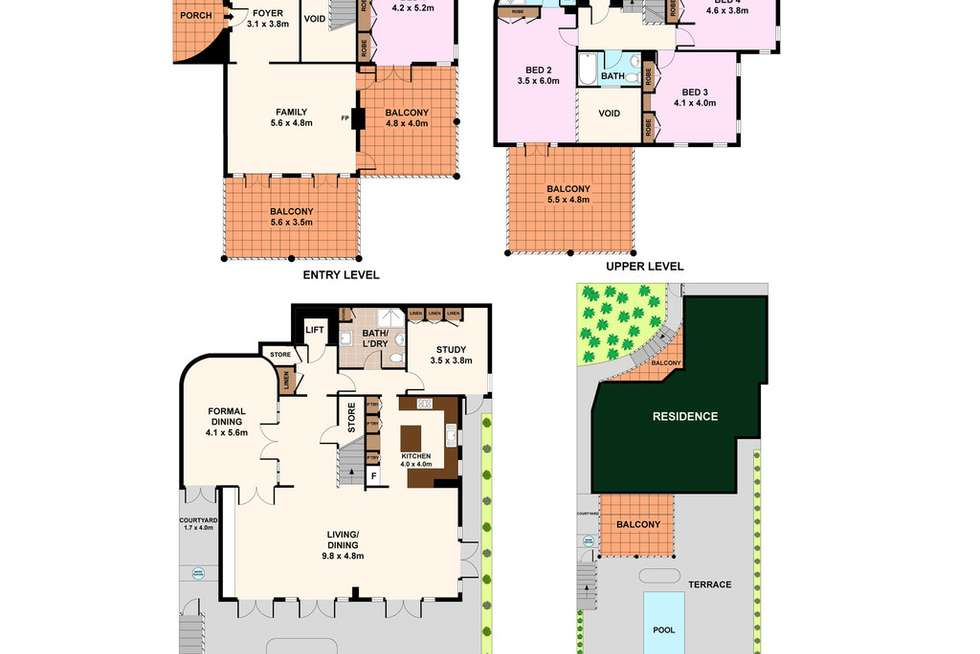 Floorplan of Homely house listing, 133 Victoria Road, Bellevue Hill NSW 2023