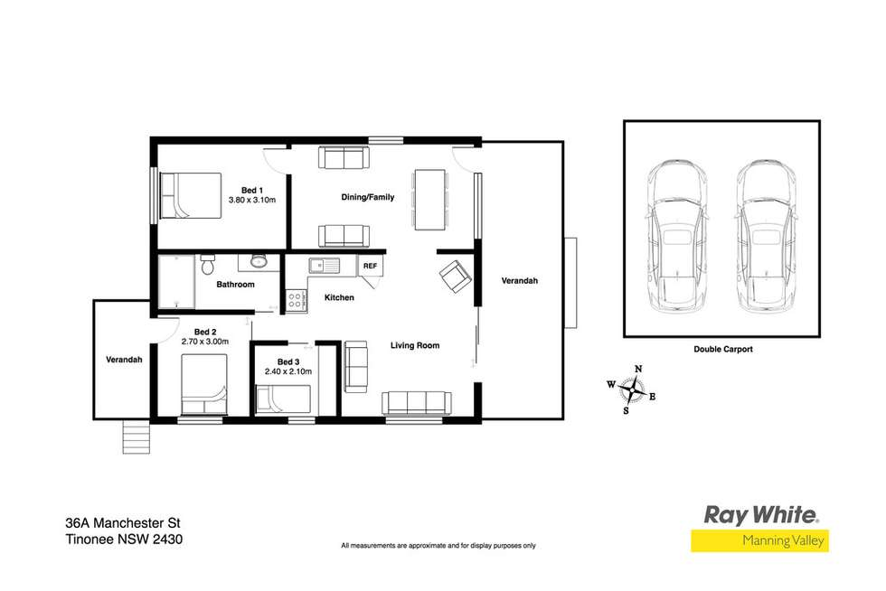Floorplan of Homely house listing, 36a Manchester Street, Tinonee NSW 2430