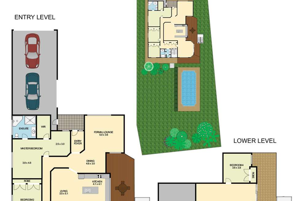 Floorplan of Homely house listing, 5 Crosswinds Close, Nords Wharf NSW 2281