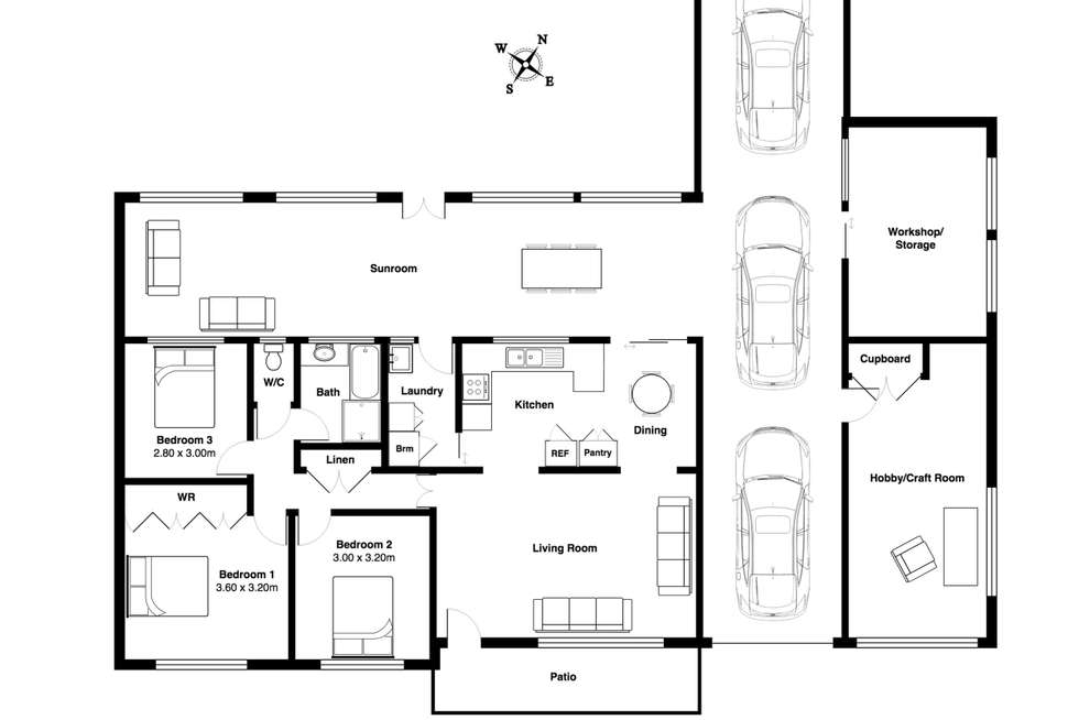 Floorplan of Homely house listing, 22 Manikato Place, Taree NSW 2430