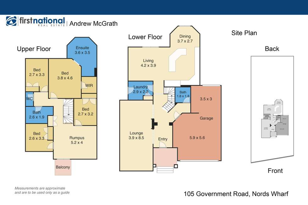 Floorplan of Homely house listing, 105 Government Rd, Nords Wharf NSW 2281