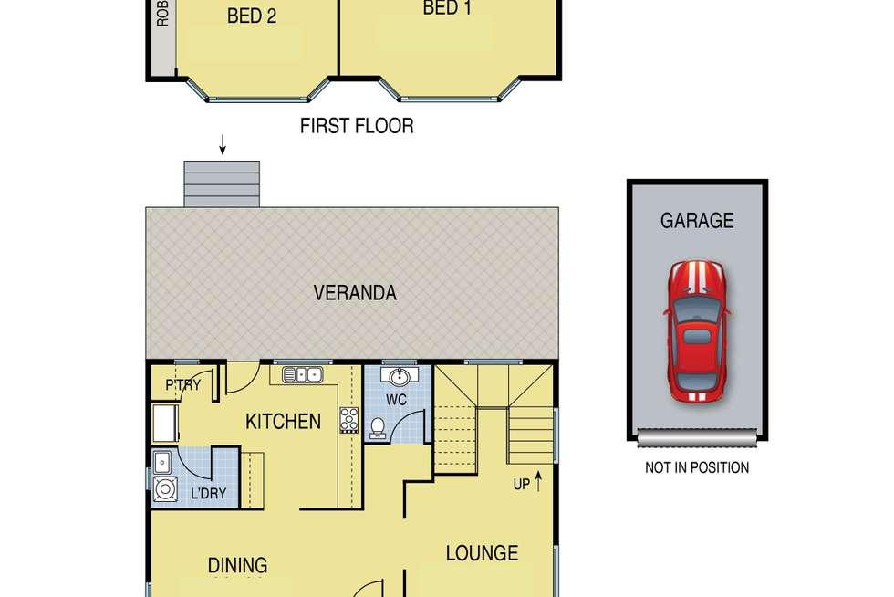 Floorplan of Homely house listing, 28 Fordham Road, Reservoir VIC 3073